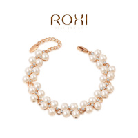 Браслет Roxi Diamond Pearl Chain