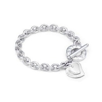 Браслет Tiffany Two Pieces Heart Toggle bracelet
