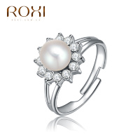 Кольцо Roxi Pearl Crown