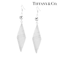Серьги Tiffany Mesh earrings