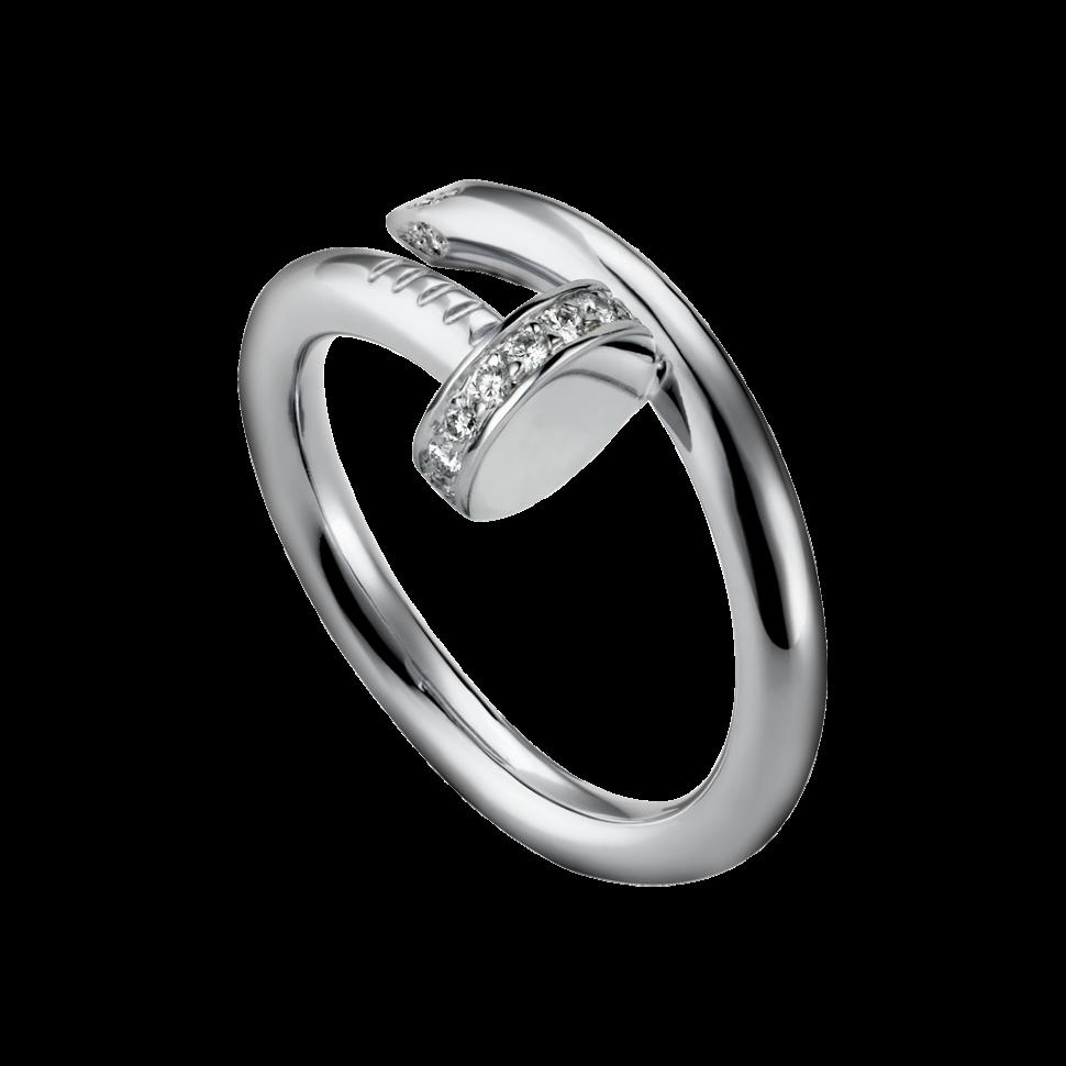 кольцо гвоздь картье