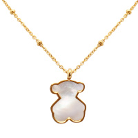 Подвеска Golden Enamel Bear