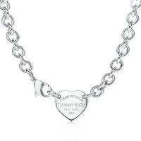 Колье Tiffany Heart Charm Necklace