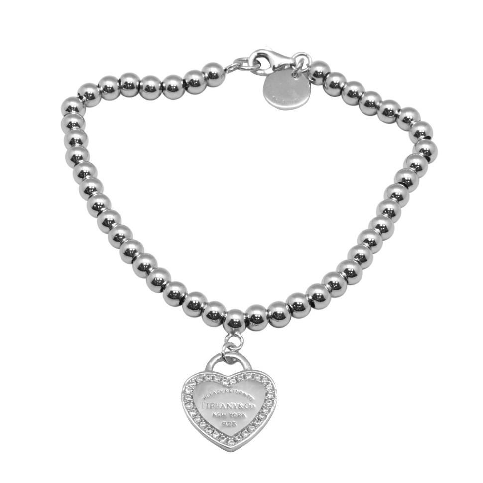 Браслет Heart Tag (100% серебро 925 пробы) 3d5a6a66ce0