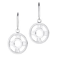 Серьги Tiffany Round Atlas Earrings